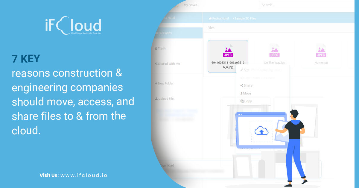 7 key reasons construction and engineering companies should move, access, and share files to and from the cloud.
