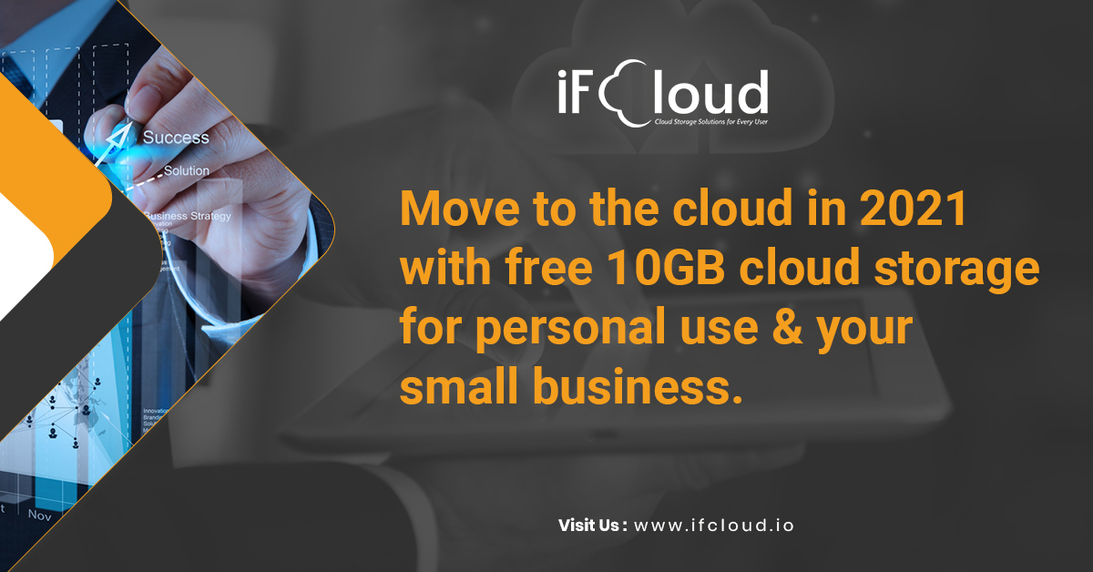 Move to the cloud in 2021 with free 10GB cloud storage for personal use and your small business.
